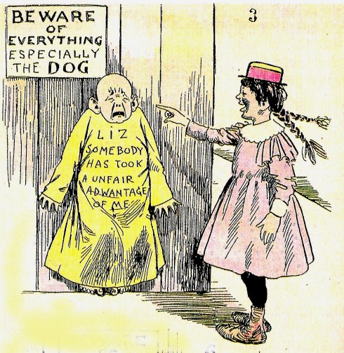 From 1896 the yellow kid hogan s alley